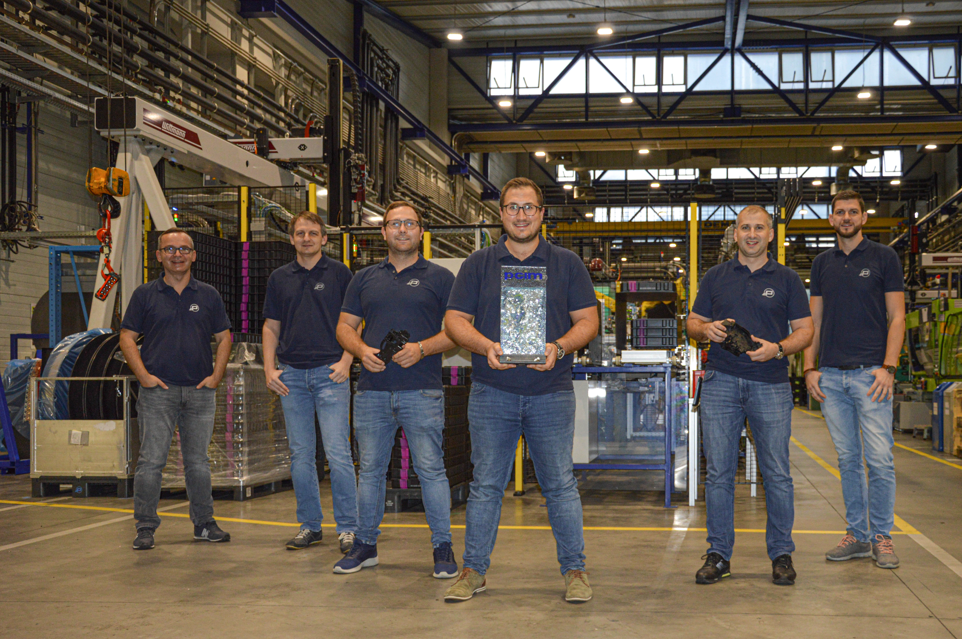 Projektteam Global Latch 3 mit dem Kiekert Award